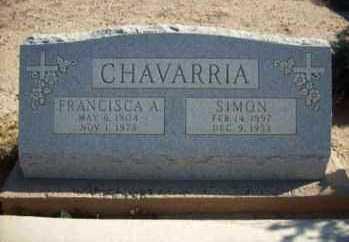 CHAVARRIA, SIMON - Graham County, Arizona | SIMON CHAVARRIA - Arizona Gravestone Photos