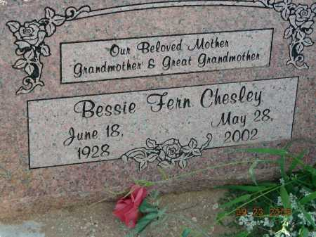 CHESLEY, BESSIE FERN - Graham County, Arizona | BESSIE FERN CHESLEY - Arizona Gravestone Photos