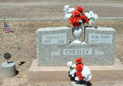CHESLEY, DERALD F. - Graham County, Arizona | DERALD F. CHESLEY - Arizona Gravestone Photos