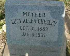 CHESLEY, LUCY - Graham County, Arizona | LUCY CHESLEY - Arizona Gravestone Photos