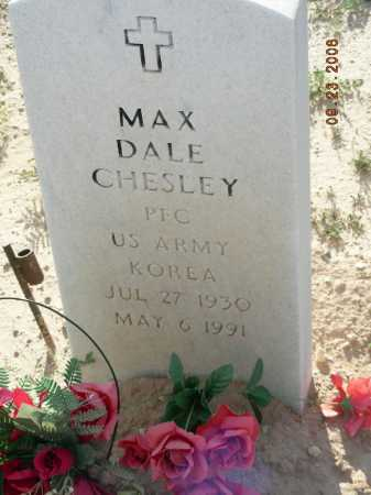 CHESLEY, MAX DALE - Graham County, Arizona   MAX DALE CHESLEY - Arizona Gravestone Photos