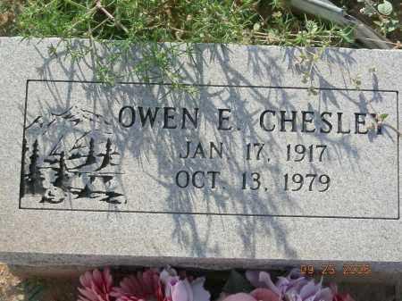CHESLEY, OWEN E - Graham County, Arizona | OWEN E CHESLEY - Arizona Gravestone Photos