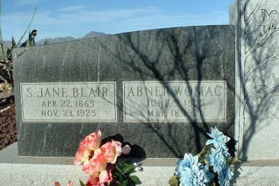 CHESLEY, S. JANE BLAIR - Graham County, Arizona | S. JANE BLAIR CHESLEY - Arizona Gravestone Photos
