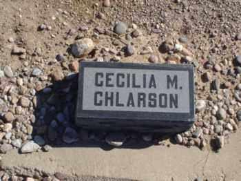 CHLARSON, CECELIA - Graham County, Arizona | CECELIA CHLARSON - Arizona Gravestone Photos