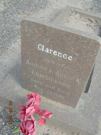 CHRISTENSEN, CLARENCE - Graham County, Arizona | CLARENCE CHRISTENSEN - Arizona Gravestone Photos