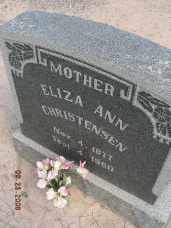 CHRISTENSEN, ELIZA ANN - Graham County, Arizona | ELIZA ANN CHRISTENSEN - Arizona Gravestone Photos
