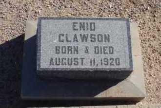 CLAWSON, ENID - Graham County, Arizona | ENID CLAWSON - Arizona Gravestone Photos