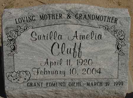 COOMBS CLUFF, SURILLA AMELIA - Graham County, Arizona | SURILLA AMELIA COOMBS CLUFF - Arizona Gravestone Photos