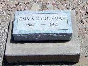 COLEMAN, EMMA BECK - Graham County, Arizona | EMMA BECK COLEMAN - Arizona Gravestone Photos
