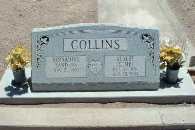 COLLINS, BERNADINE - Graham County, Arizona | BERNADINE COLLINS - Arizona Gravestone Photos