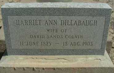 COLVIN, HARRIET ANN - Graham County, Arizona | HARRIET ANN COLVIN - Arizona Gravestone Photos
