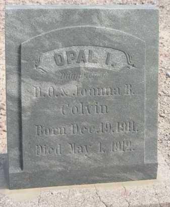 COLVIN, OPAL I - Graham County, Arizona | OPAL I COLVIN - Arizona Gravestone Photos