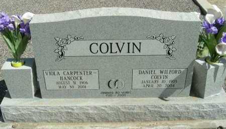 COLVIN, DANIEL WILFORD - Graham County, Arizona | DANIEL WILFORD COLVIN - Arizona Gravestone Photos