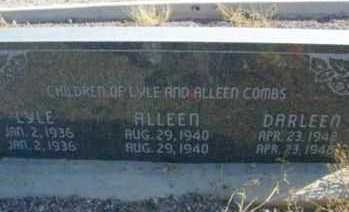 COMBS, LYLE - Graham County, Arizona | LYLE COMBS - Arizona Gravestone Photos