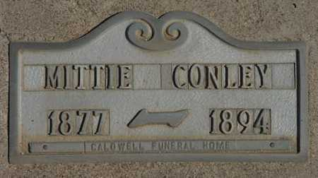 CONLEY, MITTIE FLORENCE - Graham County, Arizona | MITTIE FLORENCE CONLEY - Arizona Gravestone Photos