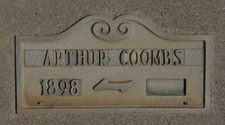 COOMBS, ARTHUR - Graham County, Arizona | ARTHUR COOMBS - Arizona Gravestone Photos