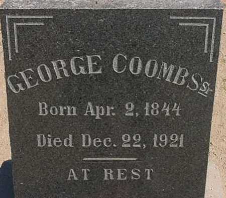 COOMBS, GEORGE  SR. - Graham County, Arizona | GEORGE  SR. COOMBS - Arizona Gravestone Photos