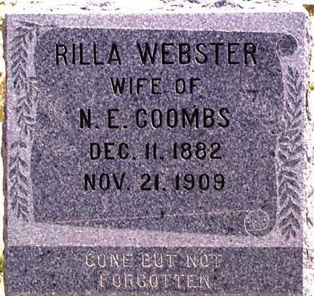WEBSTER COOMBS, RILLA - Graham County, Arizona | RILLA WEBSTER COOMBS - Arizona Gravestone Photos