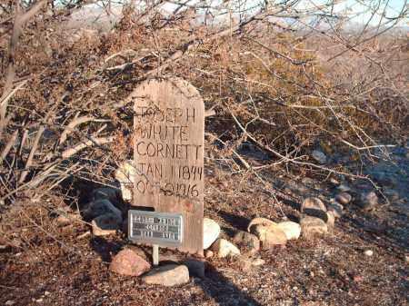 CORNETT, JOSEPH WHITE - Graham County, Arizona | JOSEPH WHITE CORNETT - Arizona Gravestone Photos