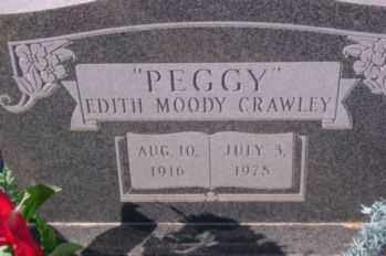CRAWLEY, EDITH (PEGGY) - Graham County, Arizona | EDITH (PEGGY) CRAWLEY - Arizona Gravestone Photos