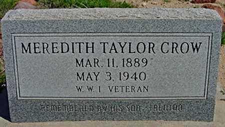 CROW, MEREDITH TAYLOR - Graham County, Arizona   MEREDITH TAYLOR CROW - Arizona Gravestone Photos