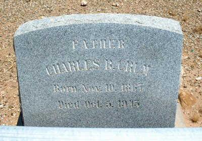 CRUM, CHARLES B. - Graham County, Arizona | CHARLES B. CRUM - Arizona Gravestone Photos