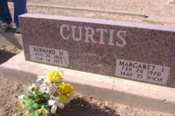 CURTIS, BERNARD H. - Graham County, Arizona | BERNARD H. CURTIS - Arizona Gravestone Photos