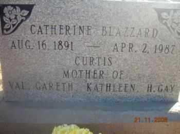CURTIS, CATHERINE - Graham County, Arizona | CATHERINE CURTIS - Arizona Gravestone Photos