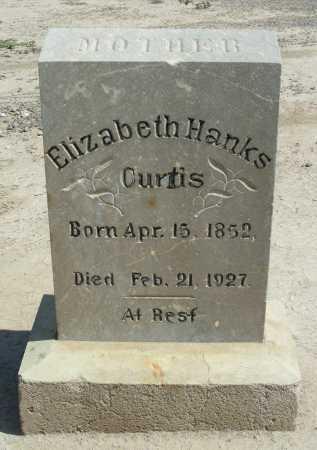 HANKS CURTIS, ELIZABETH - Graham County, Arizona | ELIZABETH HANKS CURTIS - Arizona Gravestone Photos