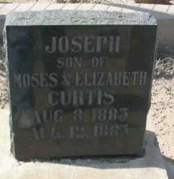 CURTIS, JOSEPH - Graham County, Arizona | JOSEPH CURTIS - Arizona Gravestone Photos