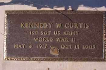 CURTIS, KENNEDY W. - Graham County, Arizona | KENNEDY W. CURTIS - Arizona Gravestone Photos