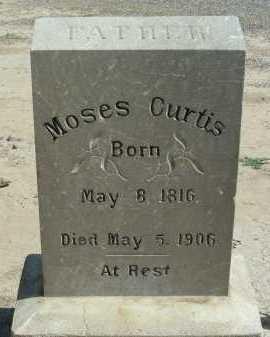 CURTIS, MOSES - Graham County, Arizona   MOSES CURTIS - Arizona Gravestone Photos