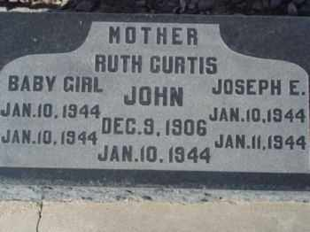 CURTIS, JOHN - Graham County, Arizona | JOHN CURTIS - Arizona Gravestone Photos