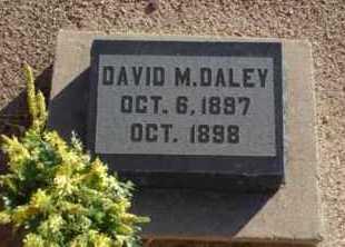 DALEY, DAVID MARSHALL - Graham County, Arizona | DAVID MARSHALL DALEY - Arizona Gravestone Photos
