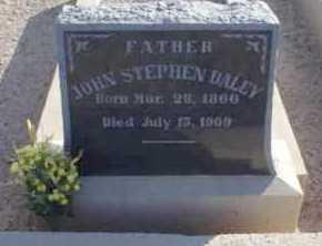 DALEY, JOHN STEPHEN - Graham County, Arizona | JOHN STEPHEN DALEY - Arizona Gravestone Photos