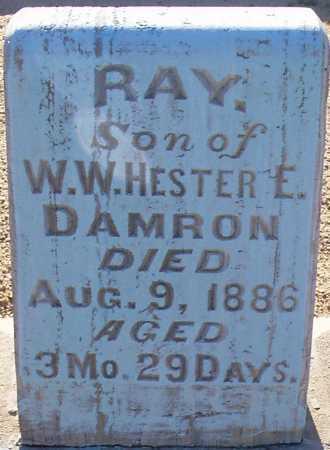 DAMRON, RAY - Graham County, Arizona   RAY DAMRON - Arizona Gravestone Photos
