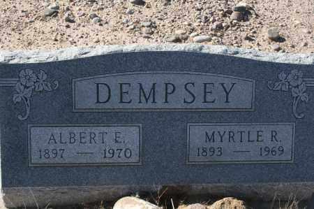 DEMPSEY, ALBERT E. - Graham County, Arizona | ALBERT E. DEMPSEY - Arizona Gravestone Photos