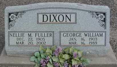 DIXON, GEORGE WILLIAM - Graham County, Arizona | GEORGE WILLIAM DIXON - Arizona Gravestone Photos