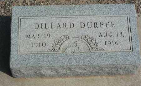 DURFEE, DILLARD - Graham County, Arizona   DILLARD DURFEE - Arizona Gravestone Photos