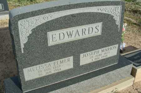 EDWARDS, MELISSA - Graham County, Arizona | MELISSA EDWARDS - Arizona Gravestone Photos