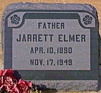 ELMER, JARRETT - Graham County, Arizona | JARRETT ELMER - Arizona Gravestone Photos