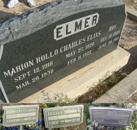 ELMER, CHARLES ELIAS - Graham County, Arizona | CHARLES ELIAS ELMER - Arizona Gravestone Photos