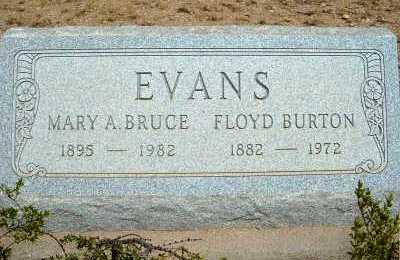 EVANS, MARY A. - Graham County, Arizona | MARY A. EVANS - Arizona Gravestone Photos
