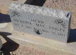 MOORE FARLEY, JACQUITA MAY - Graham County, Arizona | JACQUITA MAY MOORE FARLEY - Arizona Gravestone Photos