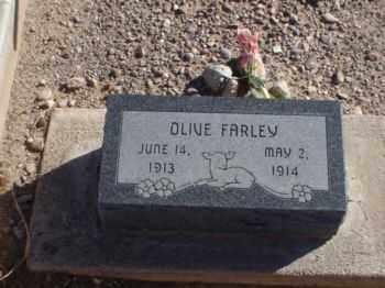 FARLEY, OLIVE - Graham County, Arizona | OLIVE FARLEY - Arizona Gravestone Photos