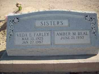 BEAL, AMBER MILDRED - Graham County, Arizona   AMBER MILDRED BEAL - Arizona Gravestone Photos