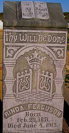 FYFFE FERGUSON, RINDA - Graham County, Arizona | RINDA FYFFE FERGUSON - Arizona Gravestone Photos