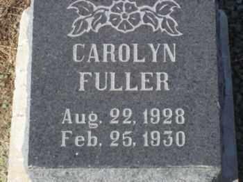 FULLER, CAROLYN - Graham County, Arizona   CAROLYN FULLER - Arizona Gravestone Photos