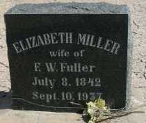 FULLER, ELIZABETH - Graham County, Arizona | ELIZABETH FULLER - Arizona Gravestone Photos