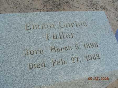 FULLER, EMMA CORINE - Graham County, Arizona   EMMA CORINE FULLER - Arizona Gravestone Photos